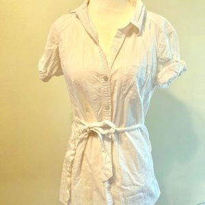 NWOT St. John's Bay cinched cover-up